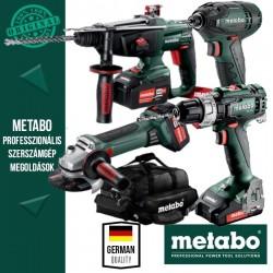 Metabo Power Pack 18V Akkus szett (ütvefúró-csavarbehajtó+ütvecsavarozó +sarokcsiszoló)