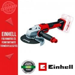 Einhell TE-AG 18/150 Li BL - Solo Akkus sarokcsiszoló akku és töltő nélkül