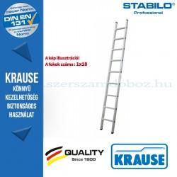 Krause Stabilo Professional létrafokos támasztólétra, egyrészes 18 fokos