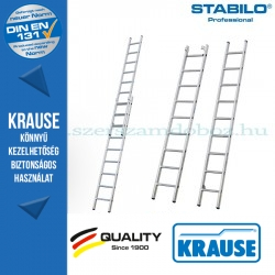 Krause Stabilo Professional létrafokos tolólétra, kétrészes 2x9 fokos