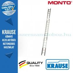 Krause Monto létrafokos húzóköteles létra Robilo kétrészes 2x18 fokos
