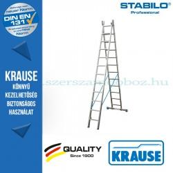 Krause Stabilo Professional létrafokos többcélú létra 2x12 fokos