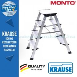 Krause Monto Treppo két oldalon járható összecsukható fellépő 2x4 fokos