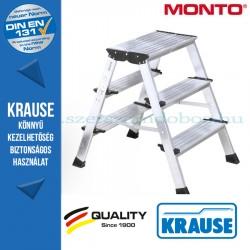 Krause Monto Treppo két oldalon járható összecsukható fellépő 2x3 fokos