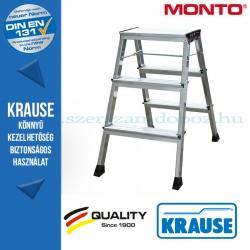 Krause Monto Rolly két oldalon járható összecsukható fellépő 2x3 fokos, alu