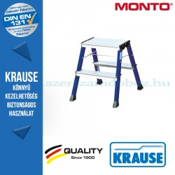 Krause Monto Rolly két oldalon járható összecsukható fellépő 2x2 fokos, kék