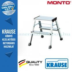 Krause Monto Rolly két oldalon járható összecsukható fellépő 2x2 fokos, alu
