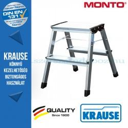 Krause Monto Treppy két oldalon járható összecsukható fellépő 2x2 fokos