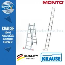 Krause Monto csuklós állólétra TriMatic 2x6 fokos