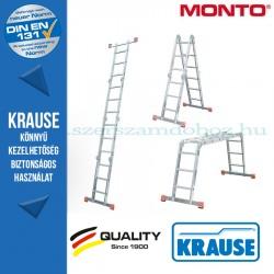 Krause Monto univerzális csuklós létra MultiMatic 4x3 fokos