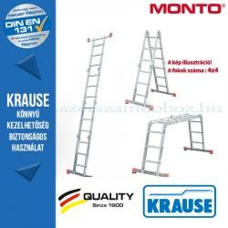 Krause Monto univerzális csuklós létra MultiMatic 4x4 fokos