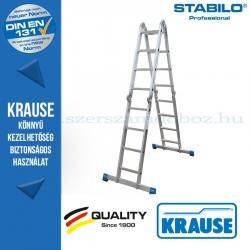 Krause Stabilo Professional univerzális csuklós létra 4x4 fokos