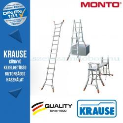 Krause Monto teleszkópos csuklós létra TeleMatic 4x4 fokos