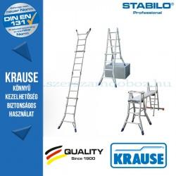 Krause Stabilo Professional teleszkópos csuklós létra 4x4 fokos