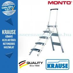 Krause összecsukható lépcső kapaszkodókerettel 5 fokos