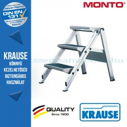 Krause összecsukható lépcső 3 fokos