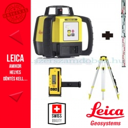Leica Rugby 620 forgólézer + CTP104 állvány + Flexiléc