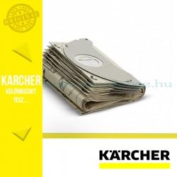 Karcher 2 rétegű papír Porzsák 5db