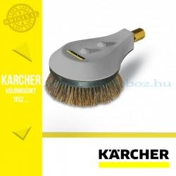 Karcher Forgó mosókefe, természetes szőrsörtékkel