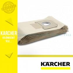 Karcher Megerősített Papírporzsák 5db