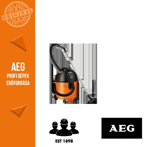 AEG AP 250 ECP Száraz-nedves porszívó