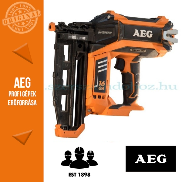 AEG B16N18-0 PRO18 V Akkus szénkefementes szögbelövő