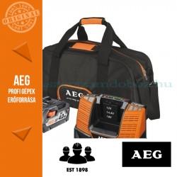AEG L1840BL Akkucsomag táskával 18V 4,0Ah