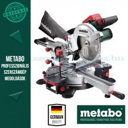Metabo KGS 18 LTX 216 Akkus fejező- és gérvágófűrész