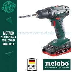 Metabo BS 18 Akkus fúró-csavarbehajtó