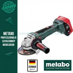 Metabo WB 18 LTX BL 125 Quick Sarokcsiszoló
