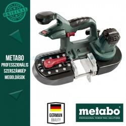 Metabo MBS 18 LTX 125 Akkus fém-szalagfűrész