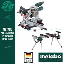 Metabo KGS 216 M Fejező és gérvágó fűrész + KSU 251 gépállvány