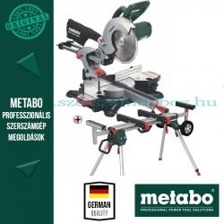 Metabo KGS 254 M Fejező és gérvágó fűrész + KSU 251 gépállvány