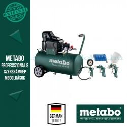 Metabo Basic 250-50 W OF Kompresszor + LPZ 4 sűrítettlevegős szerszámkészlet