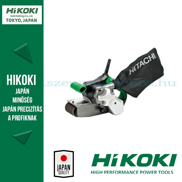 Hitachi Szalagcsiszolók