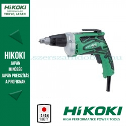 Hitachi W6VM Gipszkarton csavarozó