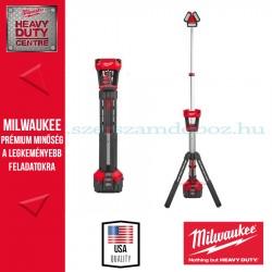 Milwaukee M18 HSAL-0 Állványos térmegvilágító lámpa és töltő