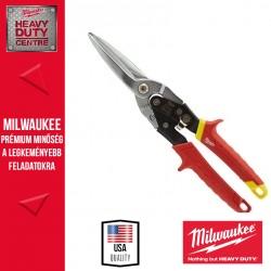Milwaukee Extra hosszú kis sugarú lemezvágó olló - egyenes