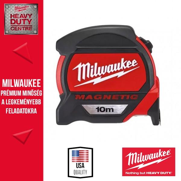 Milwaukee Mágneses mérőszalag 10m metrikus