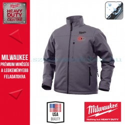 Milwaukee M12 HJ GREY3-0 Fűthető kabát (L)