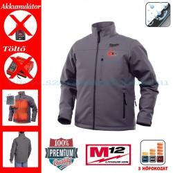 Milwaukee M12 HJ GREY3-0 Fűthető kabát (XL)