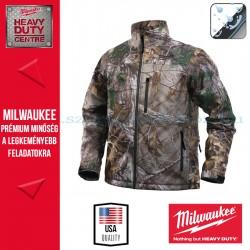 Milwaukee M12 HJ CAMO4-0 Fűthető kabát (M)