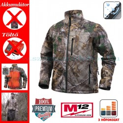 Milwaukee M12 HJ CAMO4-0 Fűthető kabát (XXL)