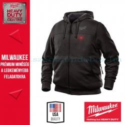 Milwaukee M12 HH BL2-0 Fűthető kapucnis pulóver (S)