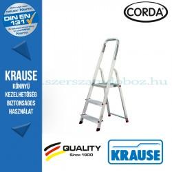 Krause CORDA Lépcsőfokos állólétra 3 fokos