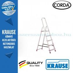 Krause CORDA Lépcsőfokos állólétra 5 fokos