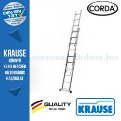 Krause CORDA Alumínium lépcsőfokos sokcélú létra 3x6 fokos