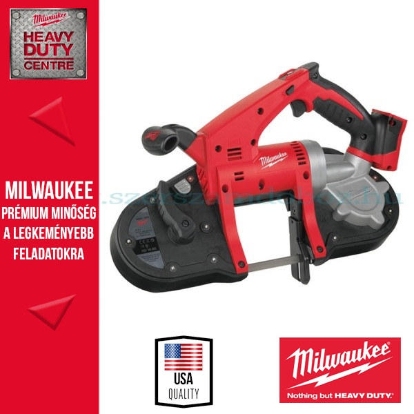 Milwaukee HD18 BS-0 Akkus Szalagfűrész