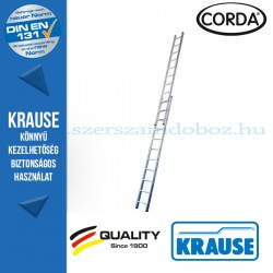 Krause CORDA Tolólétra 2x11 fokos