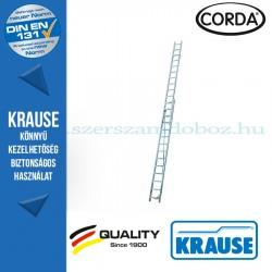 Krause CORDA Kétrészes húzóköteles létra 2x16 fokos